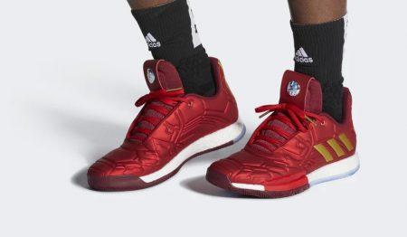 buy popular 72bd4 44215 Adidas: le scarpe da Basket ispirate ai design Marvel ...