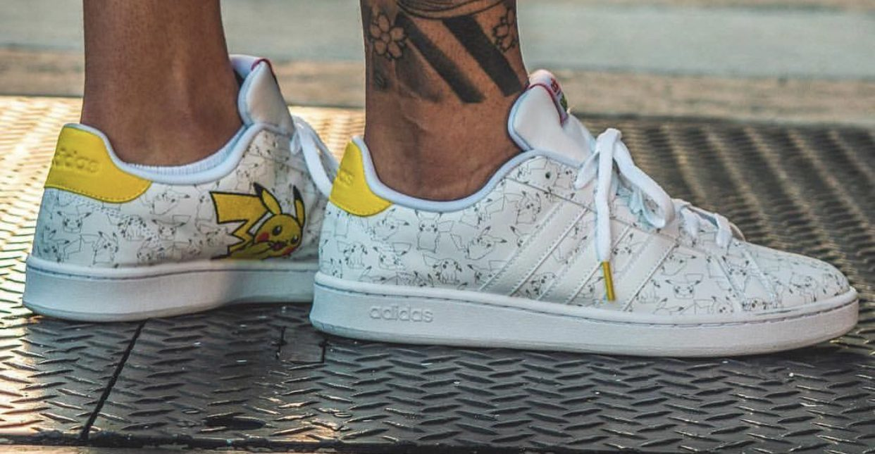 Pokémon: le nuove sneakers di Adidas in arrivo! </p>                     </div>   <!--bof Product URL --> <!--eof Product URL --> <!--bof Quantity Discounts table --> <!--eof Quantity Discounts table --> </div>                        </dd> <dt class=