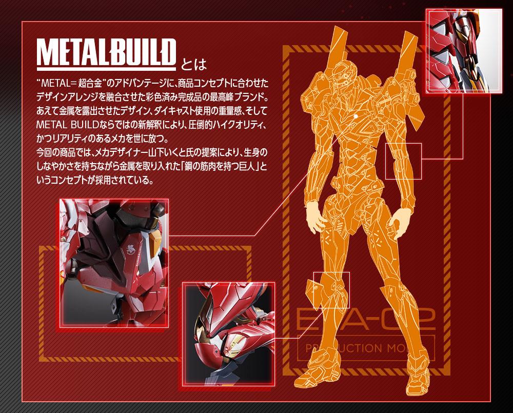 Link a EVA-02 – Metal Build – Bandai – 2