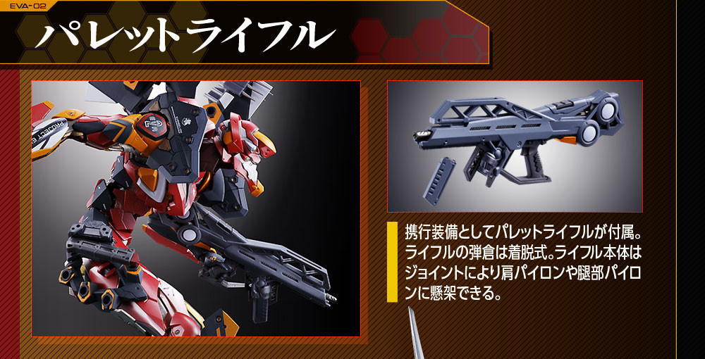 Link a EVA-02 – Metal Build – Bandai – 7