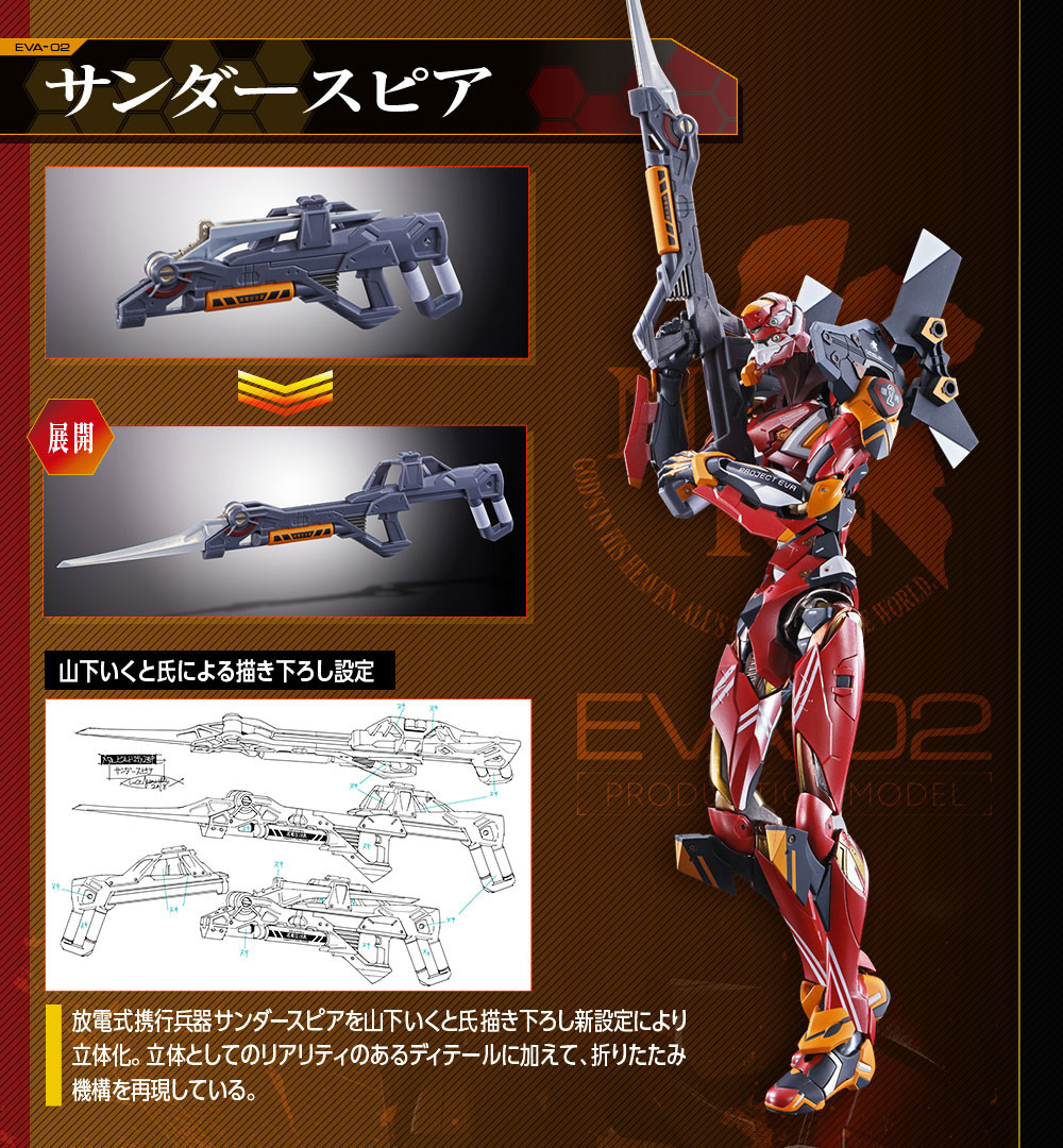 Link a EVA-02 – Metal Build – Bandai – 8