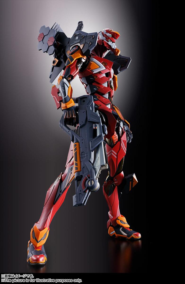 Link a eva-02 – metal build – bandai – 4