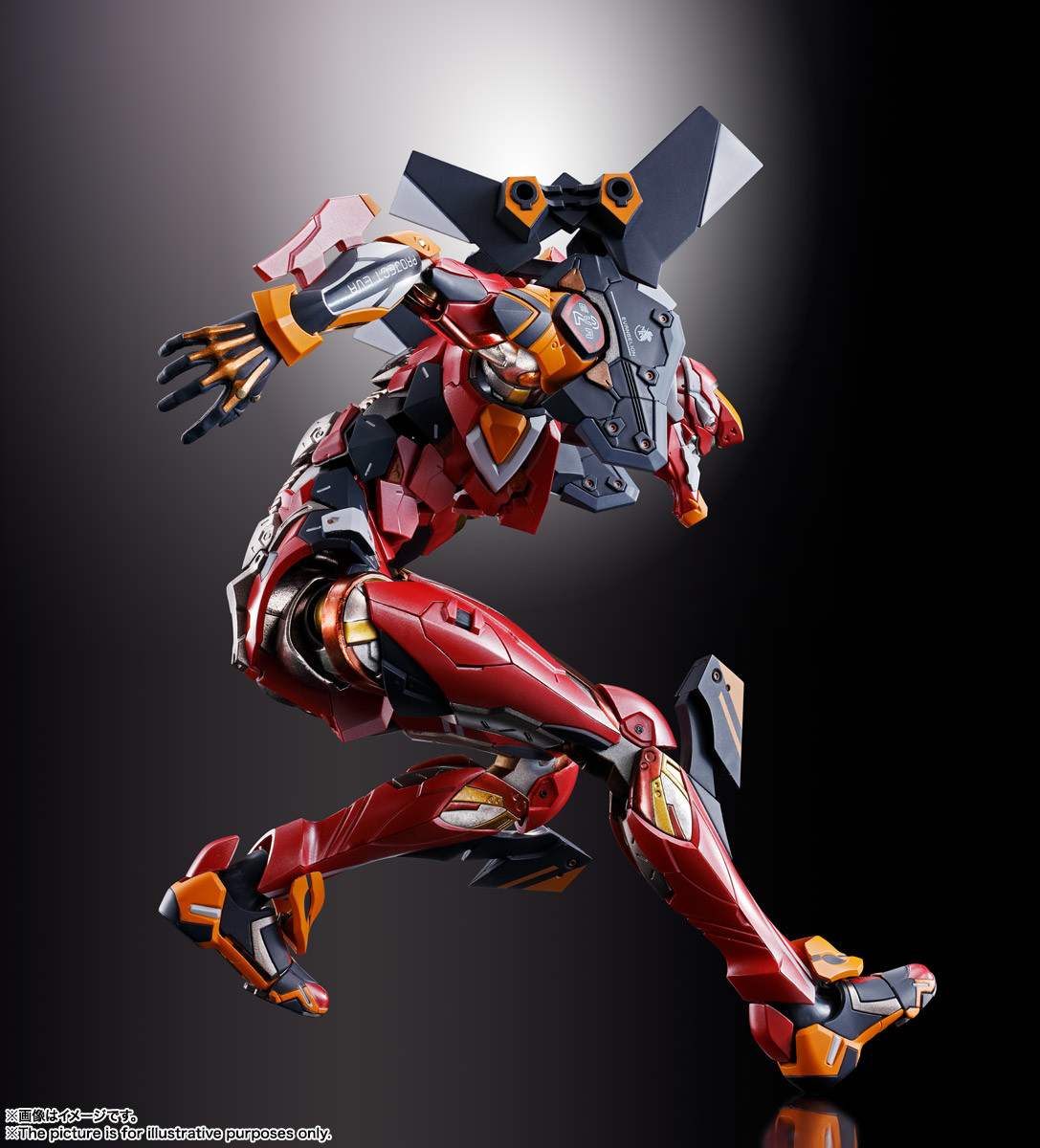 Link a eva-02 – metal build – bandai – 5