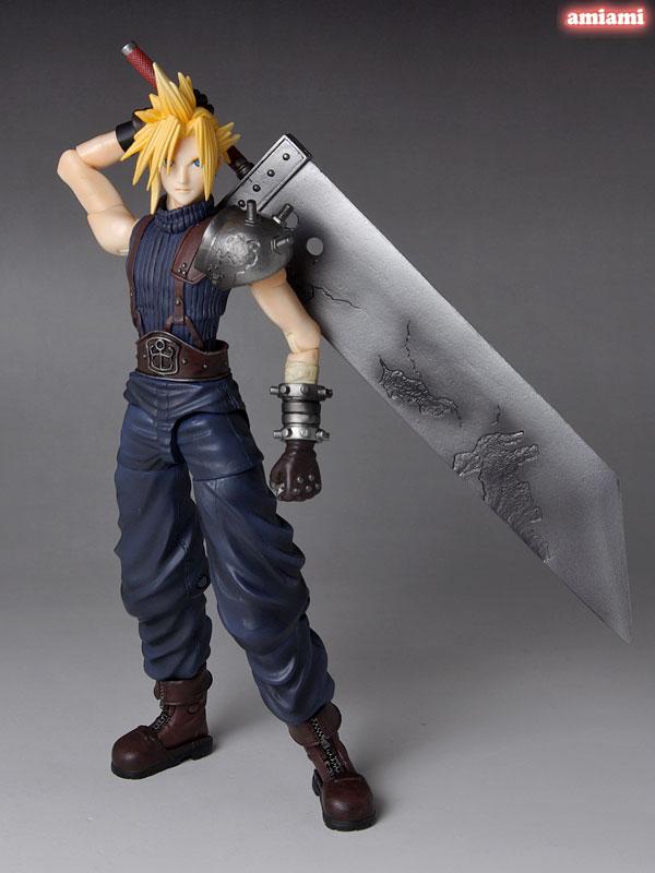 Link a Cloud Strife Final Fantasy VII Itakofocus figure Itakon.it 26