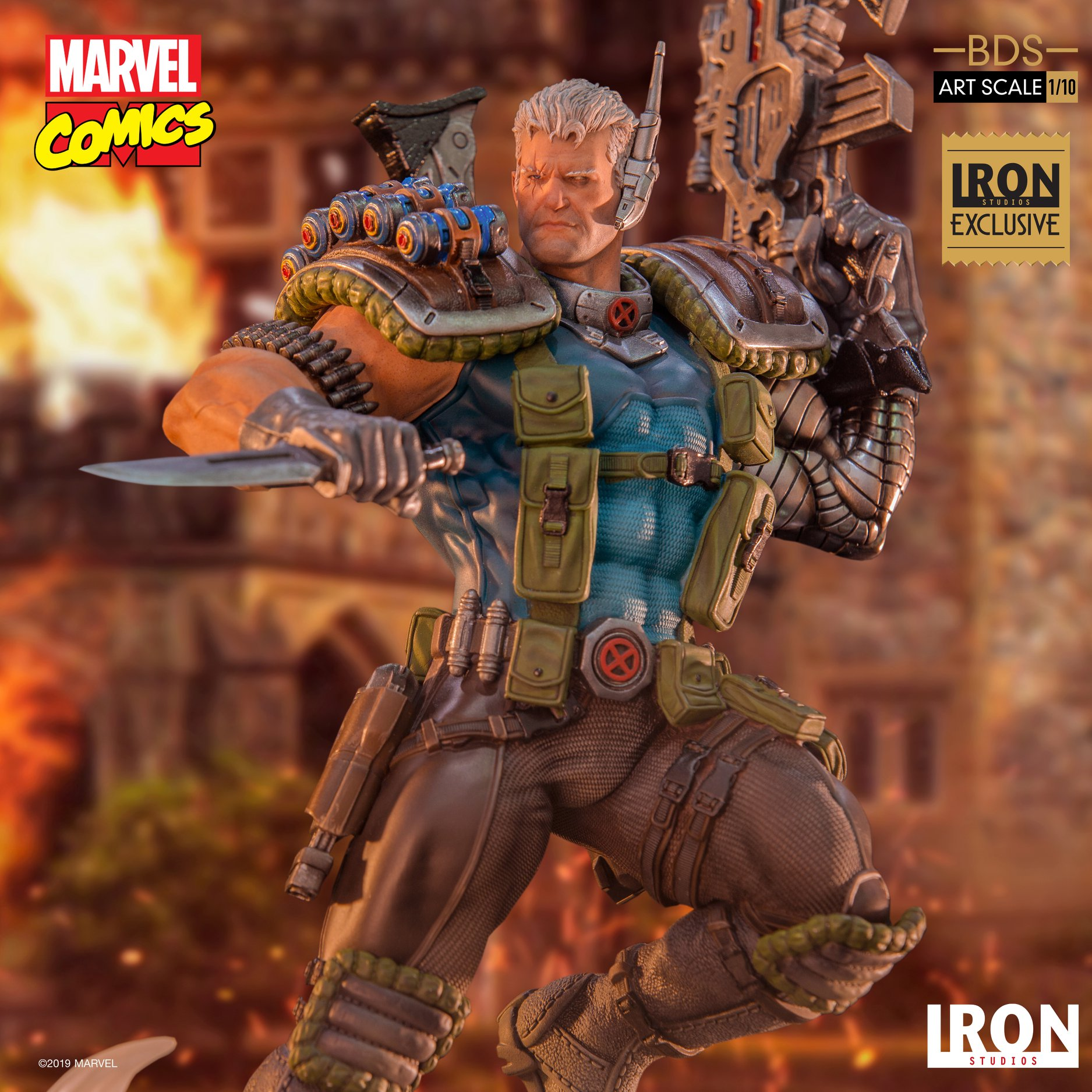 Link a Iron-Studios-Marvel-Cable-001