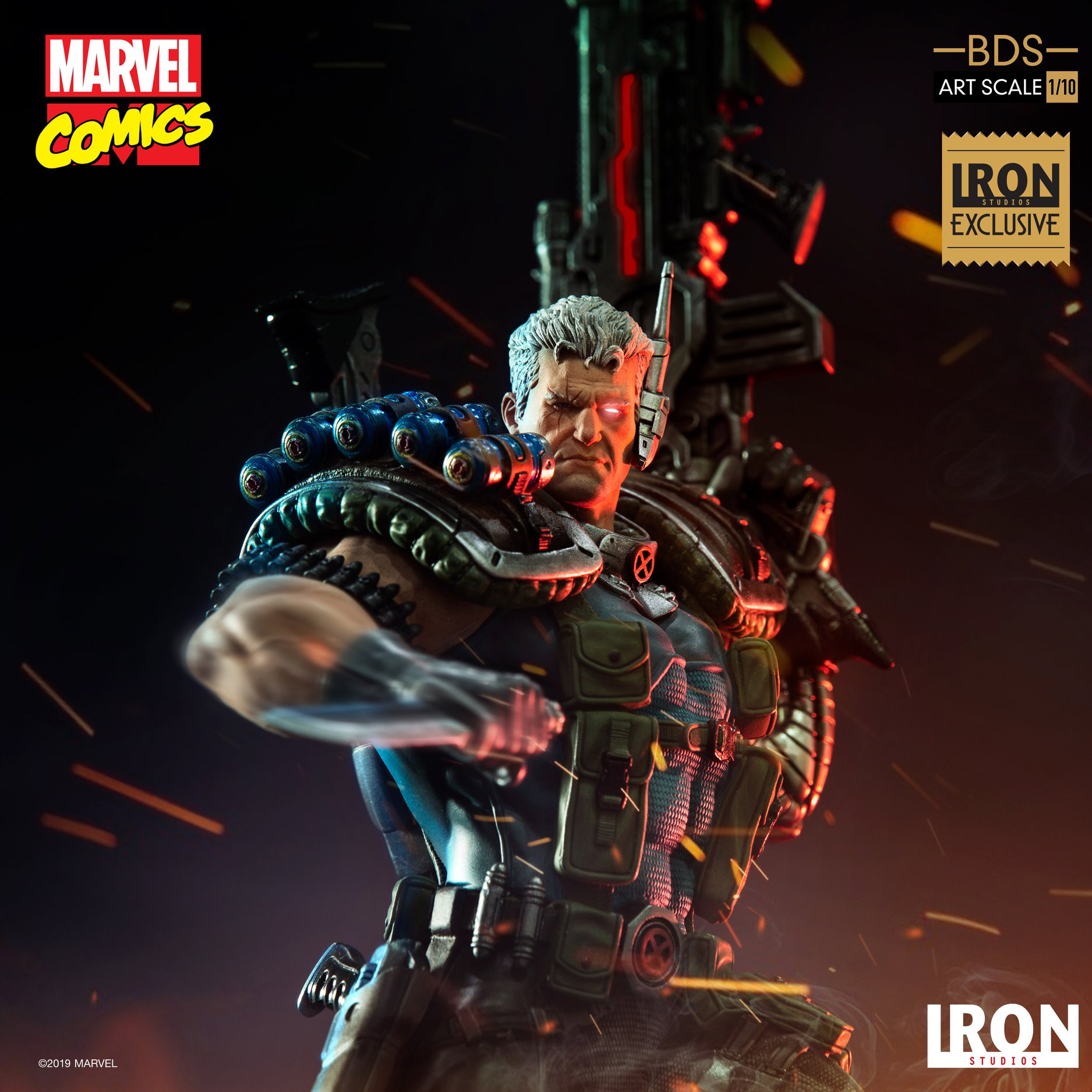 Link a Iron-Studios-Marvel-Cable-002