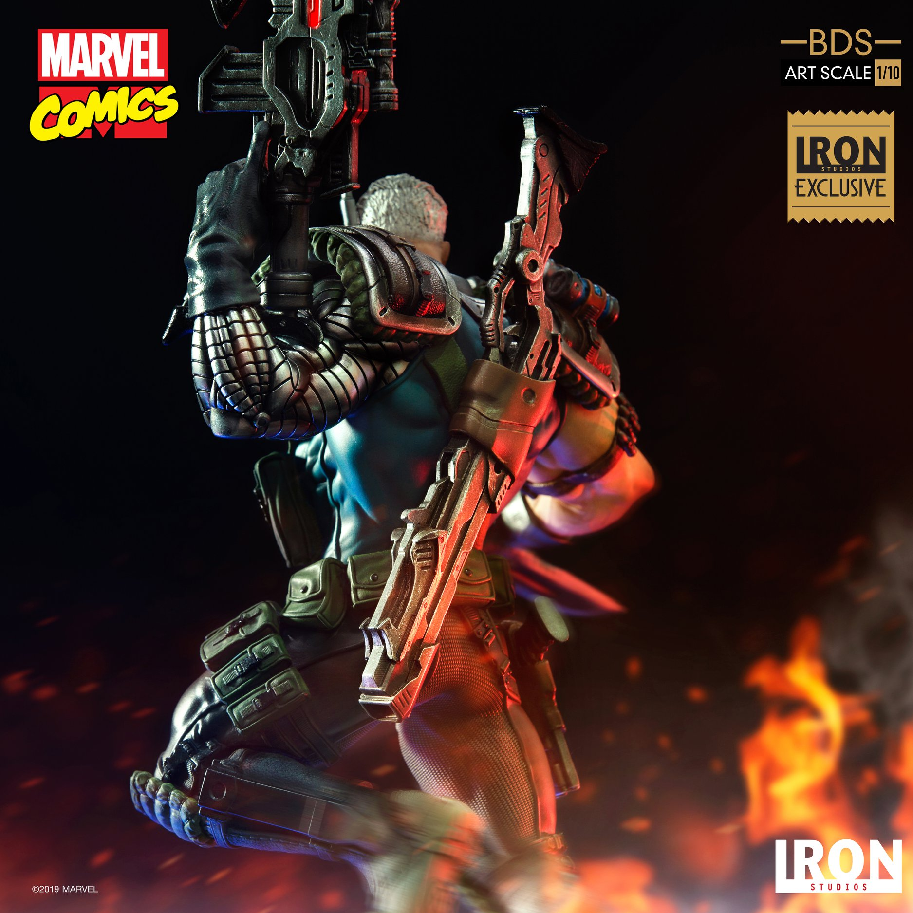 Link a Iron-Studios-Marvel-Cable-003