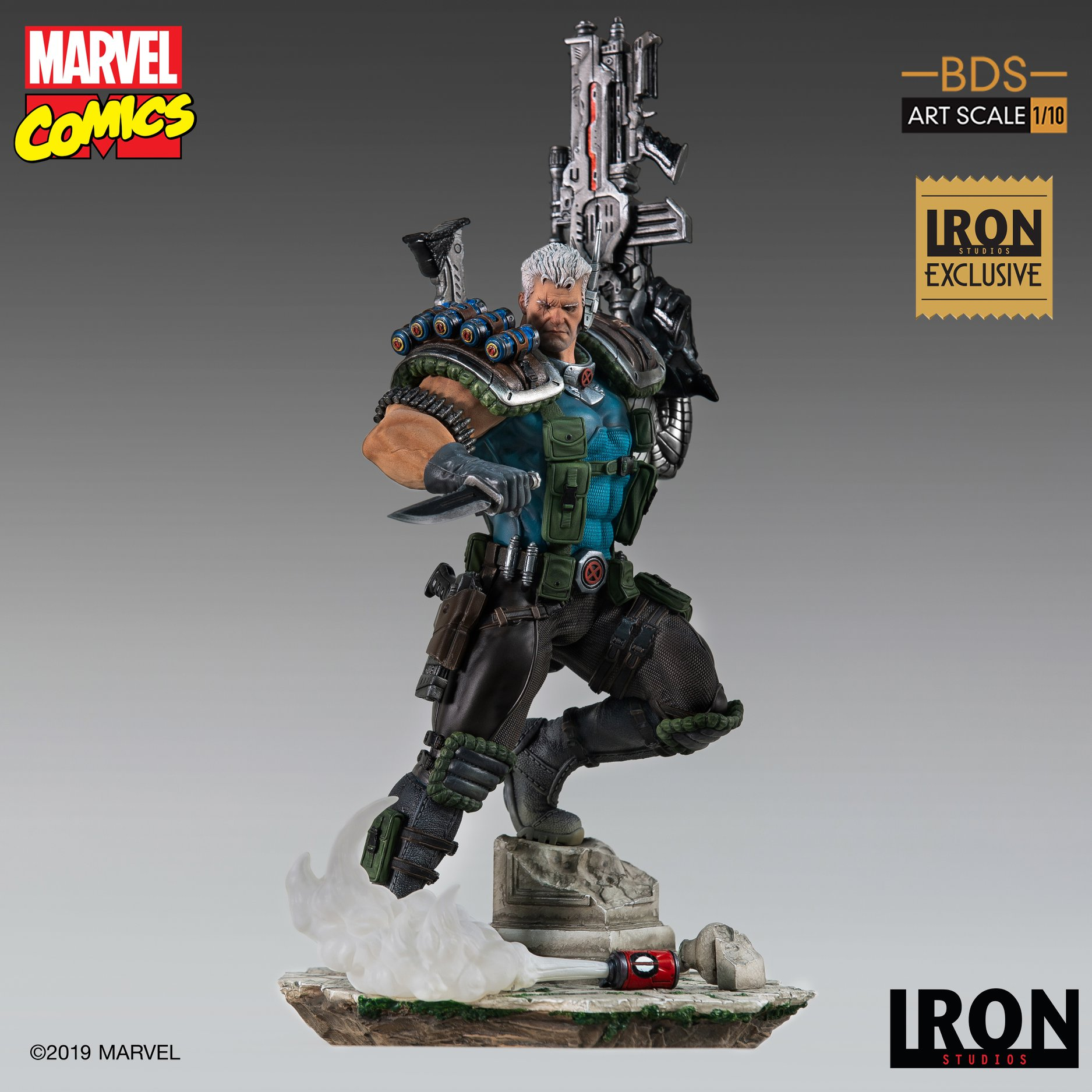 Link a Iron-Studios-Marvel-Cable-004