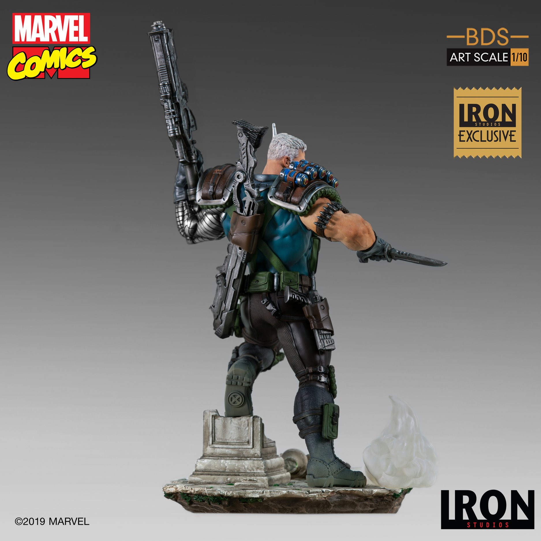 Link a Iron-Studios-Marvel-Cable-005