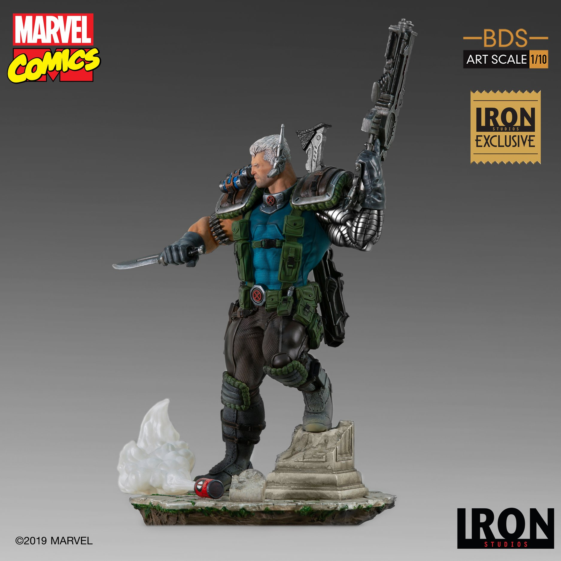 Link a Iron-Studios-Marvel-Cable-007