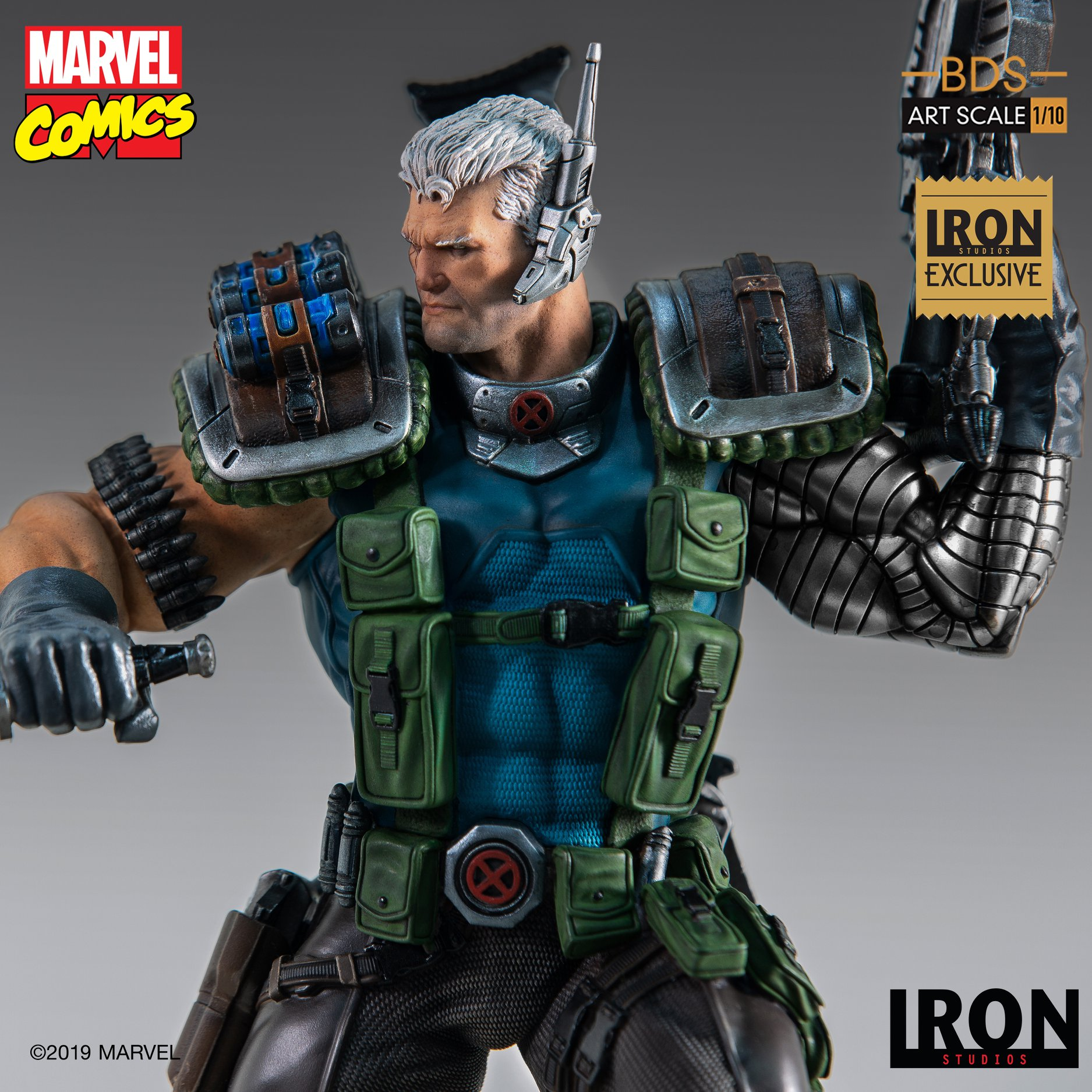 Link a Iron-Studios-Marvel-Cable-008