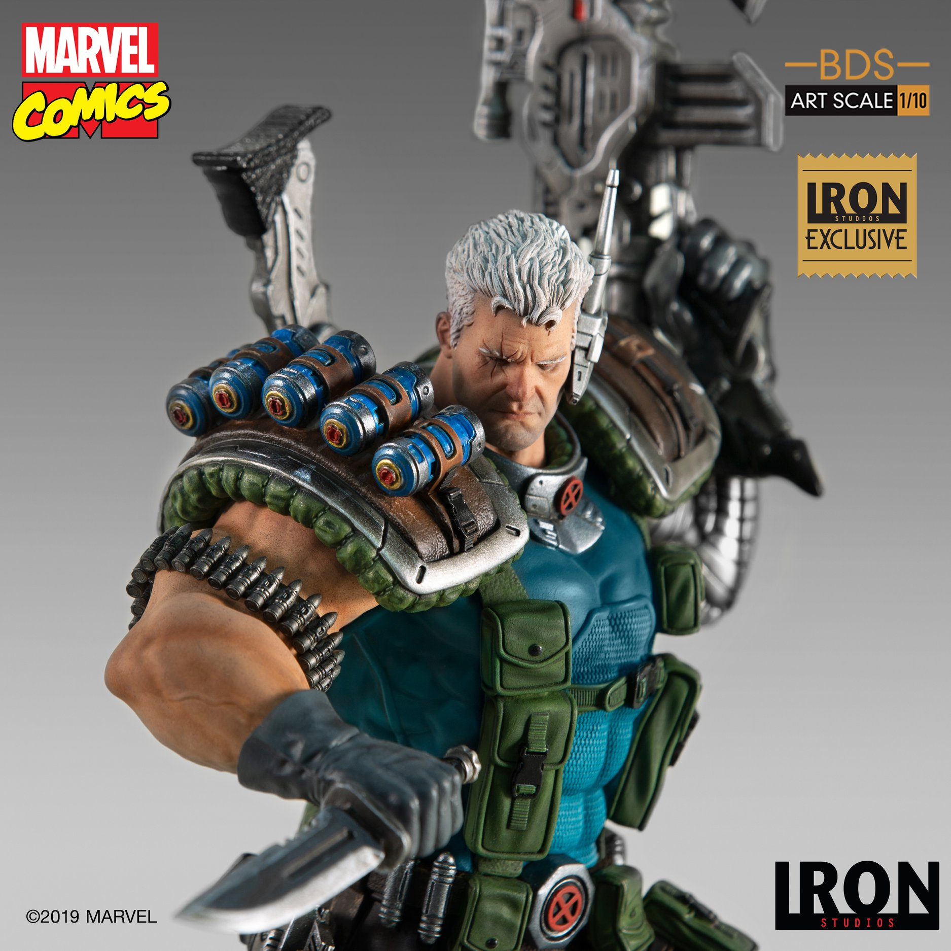 Link a Iron-Studios-Marvel-Cable-009
