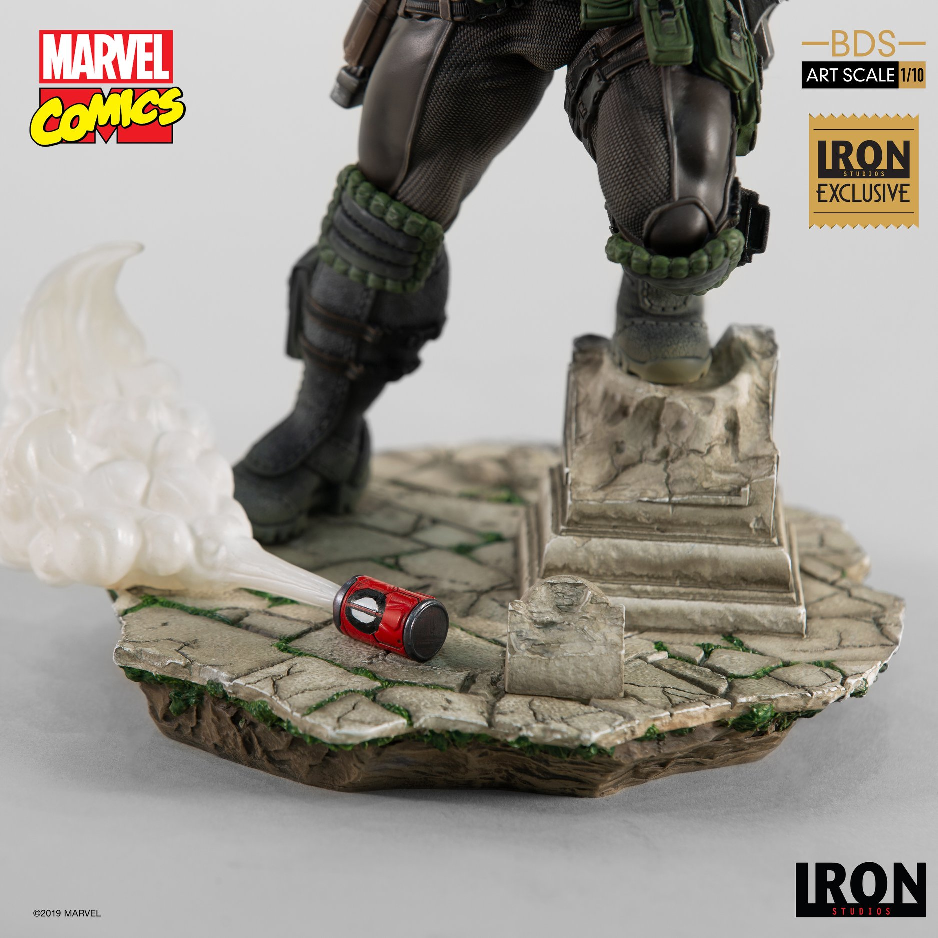 Link a Iron-Studios-Marvel-Cable-014