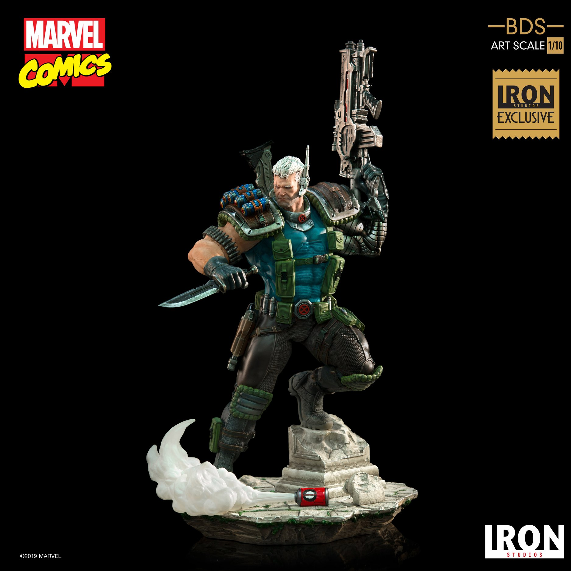 Link a Iron-Studios-Marvel-Cable-015
