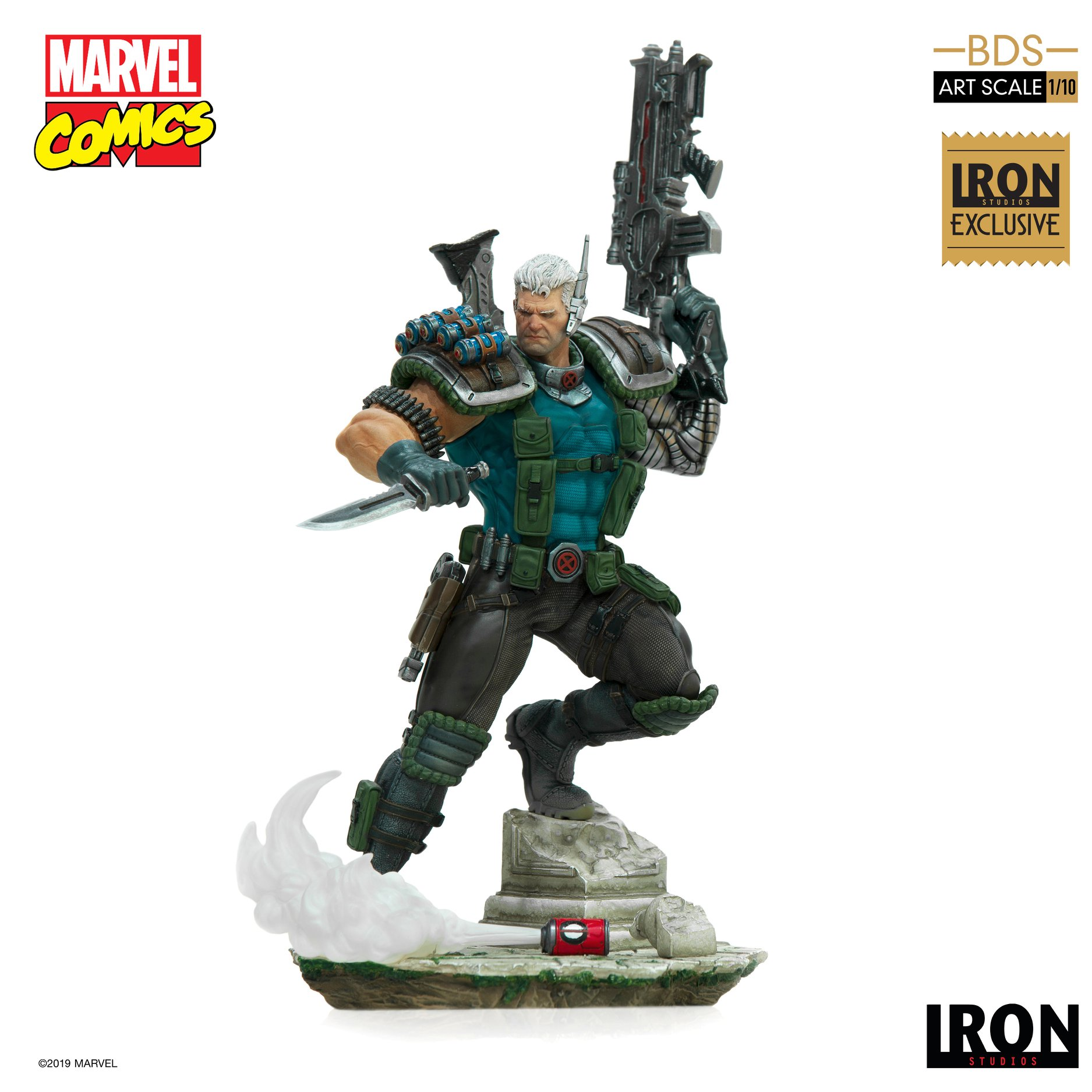 Link a Iron-Studios-Marvel-Cable-016