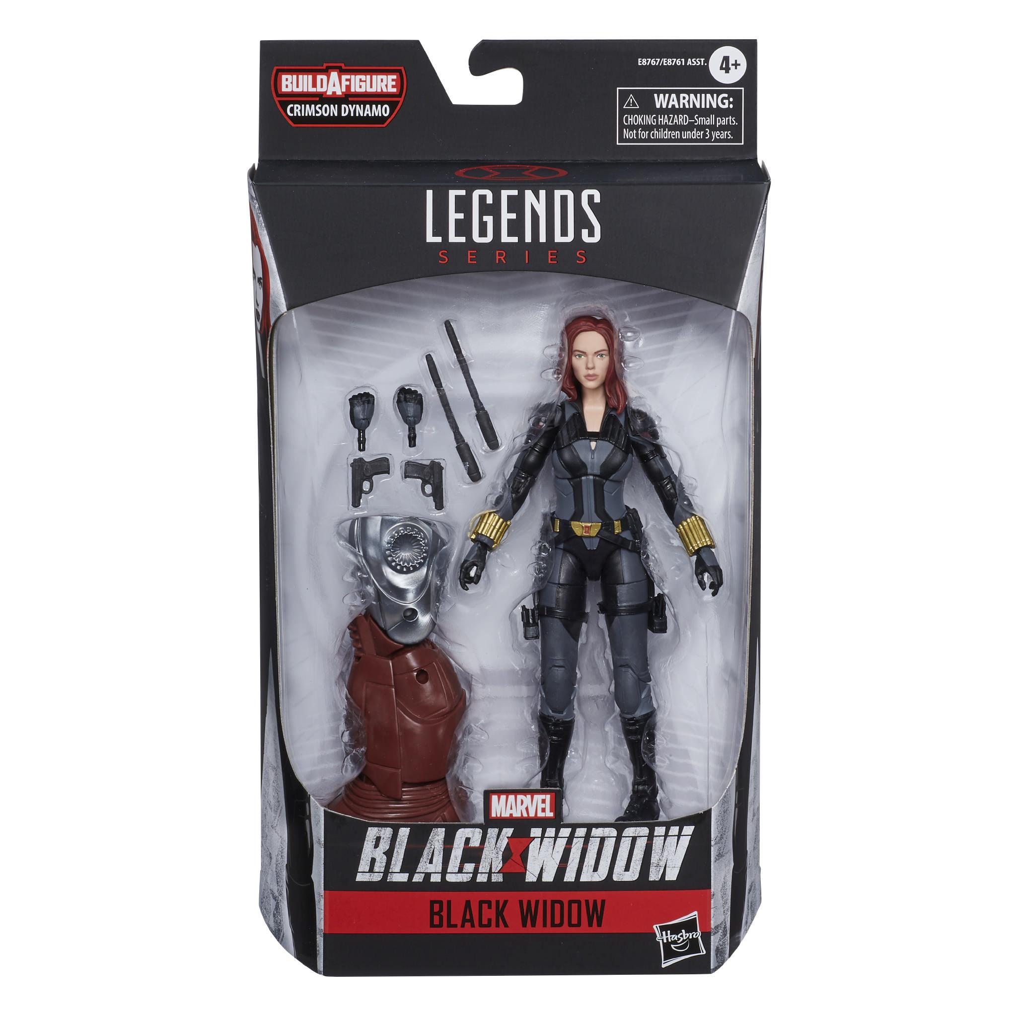 "Marvel leggende Black Widow Film DINAMO Cremisi BAF 6/"" Scale Figura Azione"