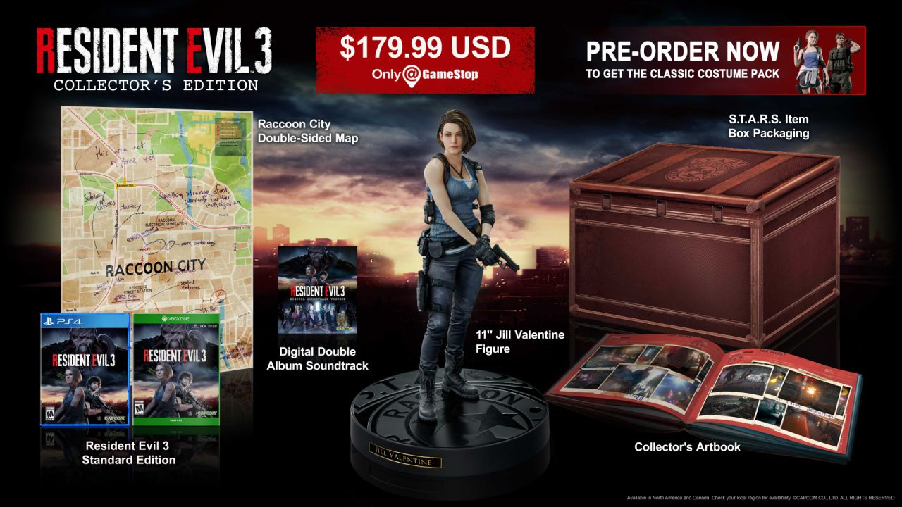 Link a resident-evil-3-collector edition