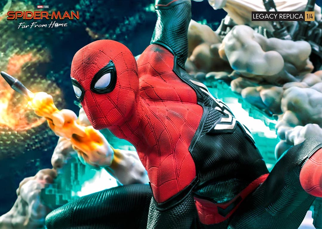 Link a Spider-Man-FFH-Statue-Iron-Studios-003