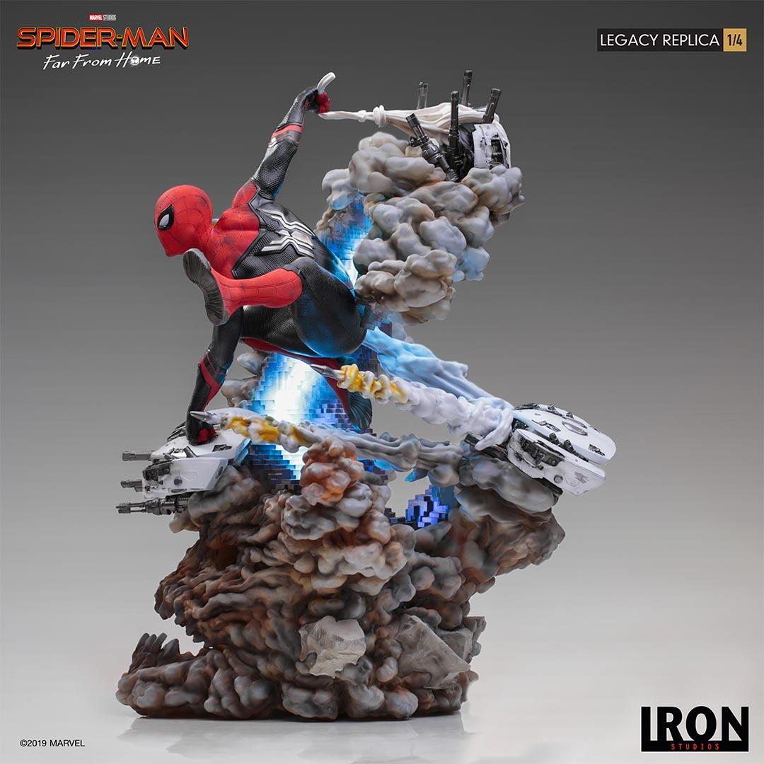 Link a Spider-Man-FFH-Statue-Iron-Studios-006