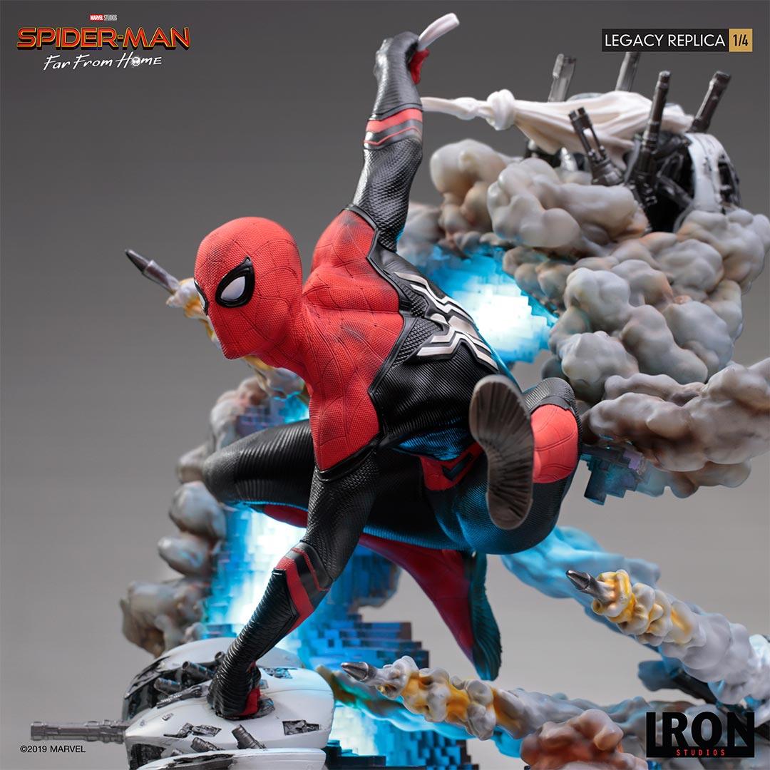 Link a Spider-Man-FFH-Statue-Iron-Studios-009