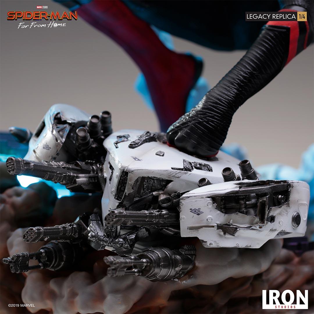 Link a Spider-Man-FFH-Statue-Iron-Studios-011