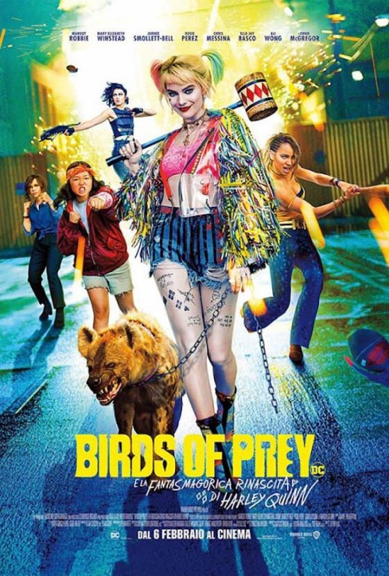 Link a birdsofprey-poster