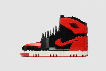 LEGO: sneakers Nike e Air Jordan, le scarpe ricreate da Tom