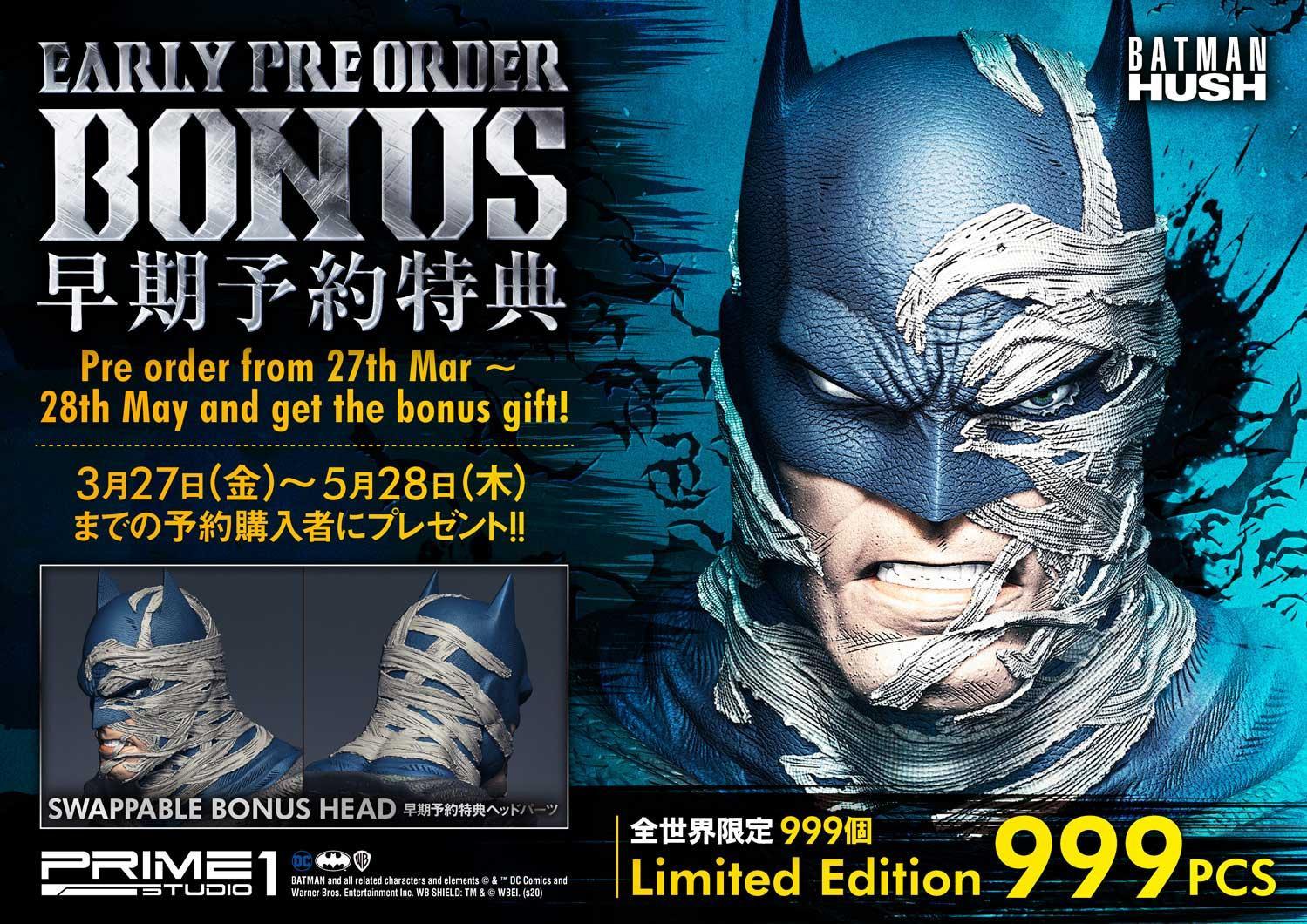 Link a Batman – Hush – Statue – Prime 1 Studio – 27