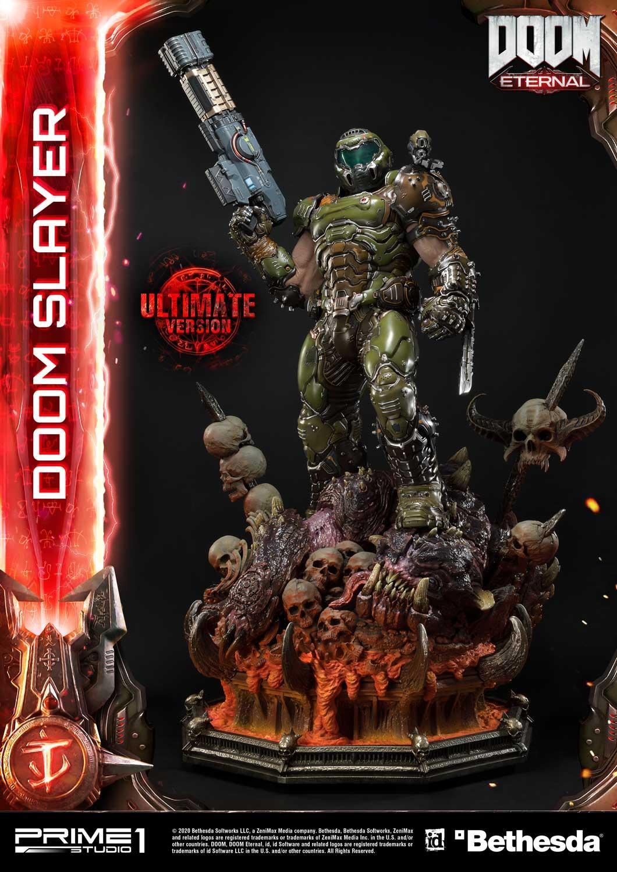 Link a Doom Slayer – Prime 1 Studio – Ultimate Masterline – 10