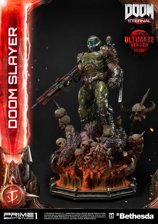 Link a Doom Slayer – Prime 1 Studio – Ultimate Masterline – 11
