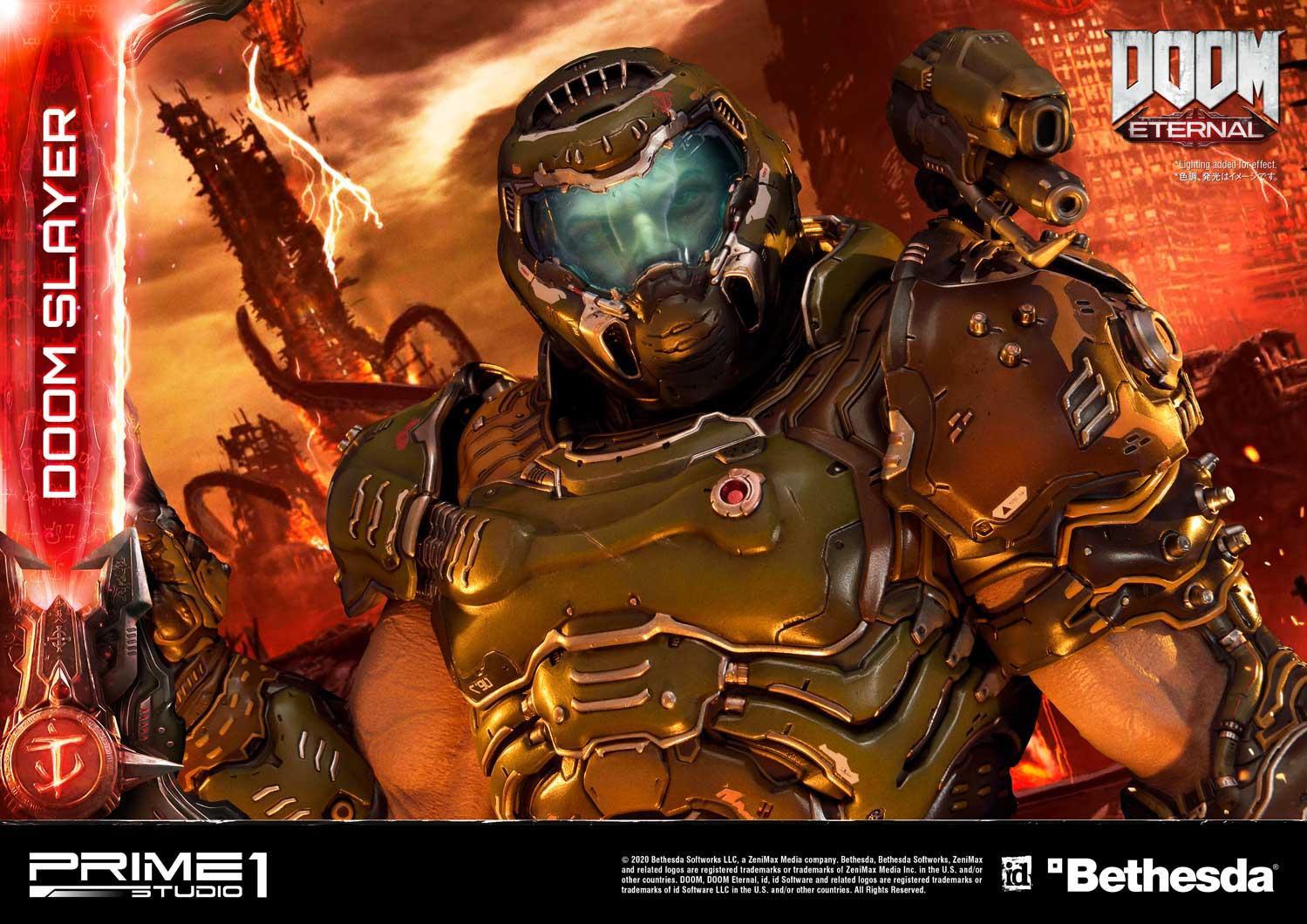 Link a Doom Slayer – Prime 1 Studio – Ultimate Masterline – 17