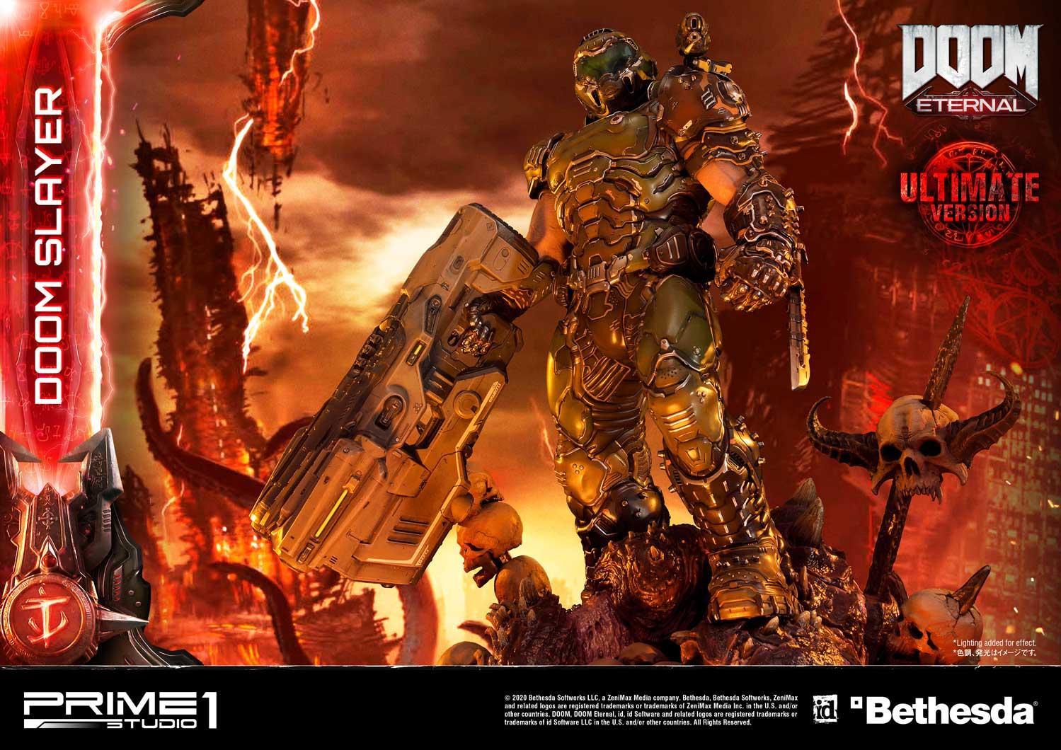 Link a Doom Slayer – Prime 1 Studio – Ultimate Masterline – 27
