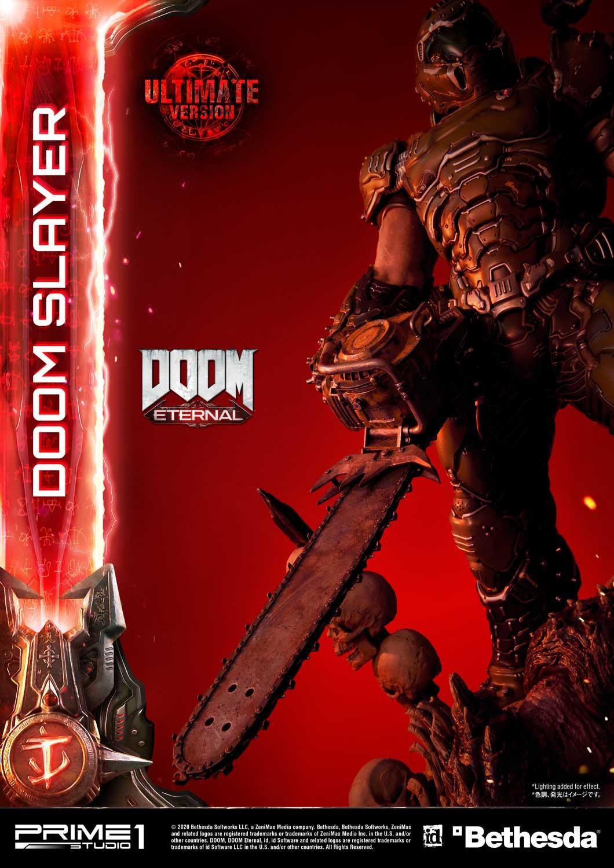 Link a Doom Slayer – Prime 1 Studio – Ultimate Masterline – 3