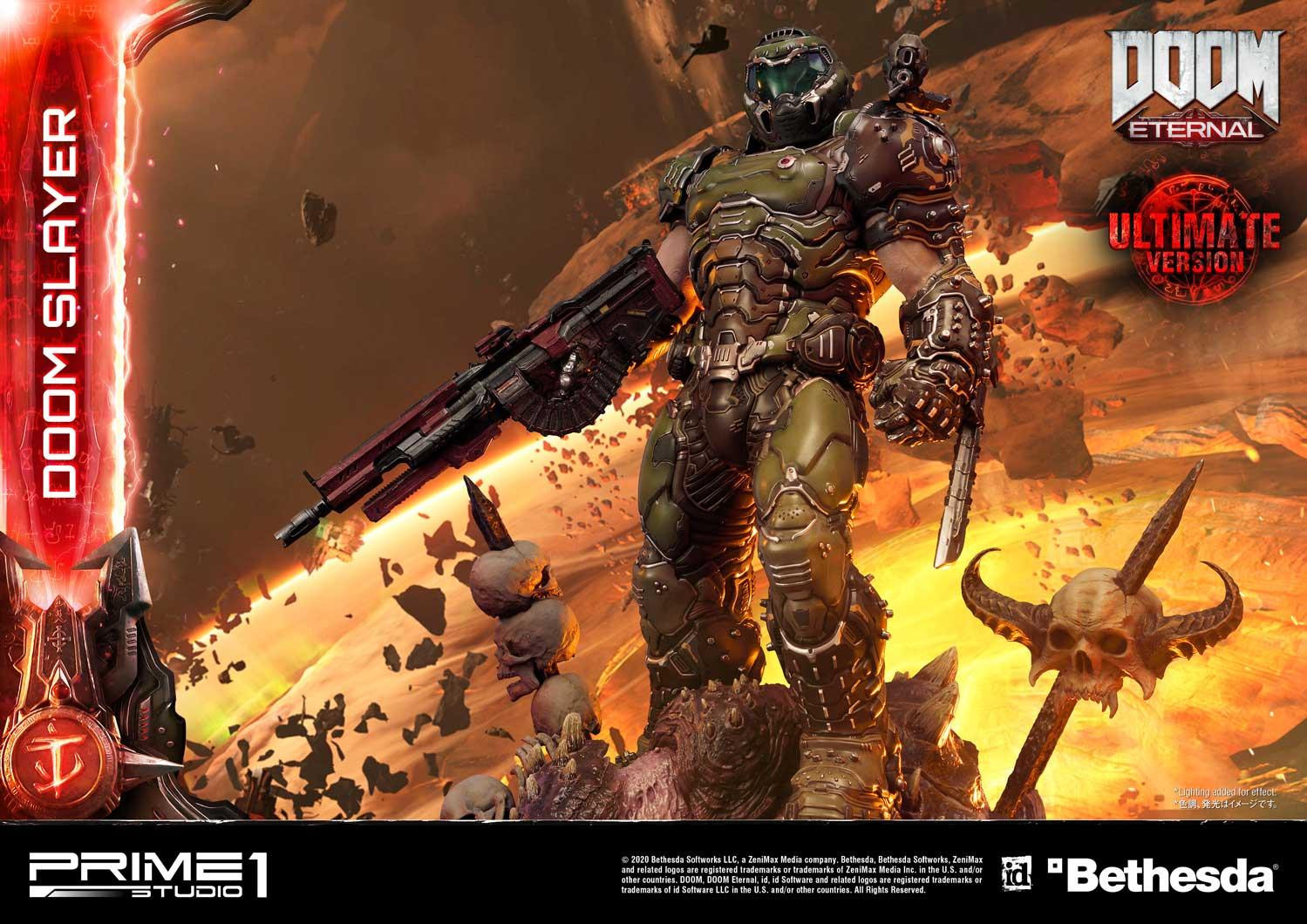 Link a Doom Slayer – Prime 1 Studio – Ultimate Masterline – 5
