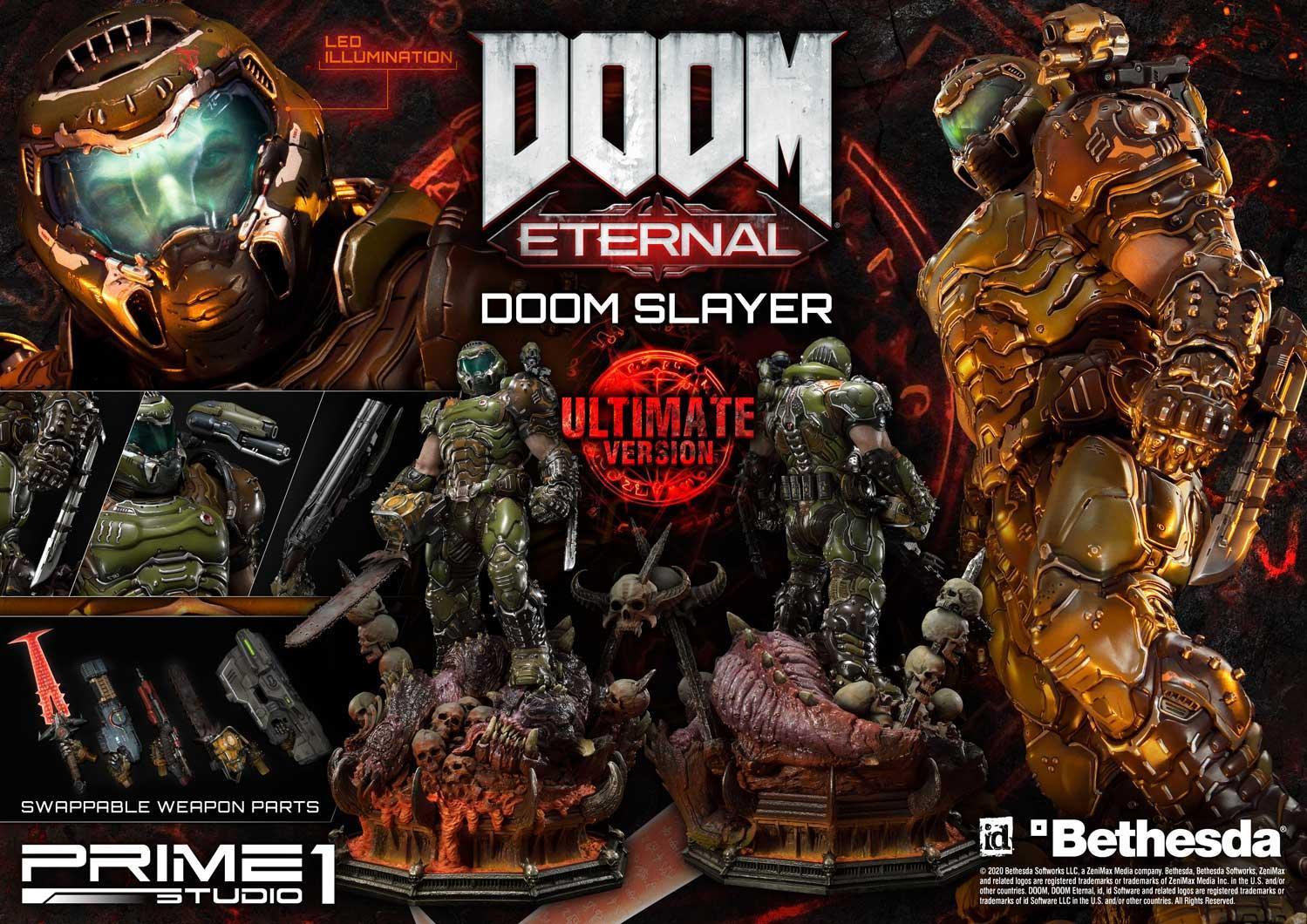 Link a Doom Slayer – Prime 1 Studio – Ultimate Masterline – 6
