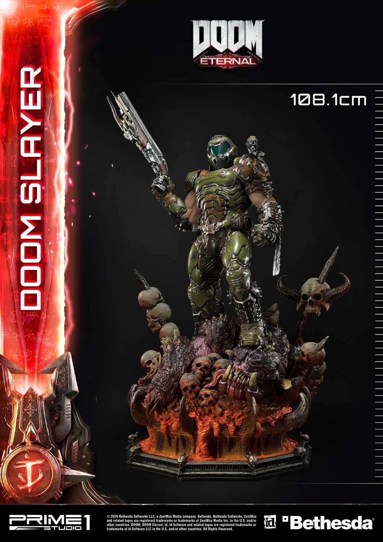 Link a Doom Slayer – Prime 1 Studio – Ultimate Masterline – 9