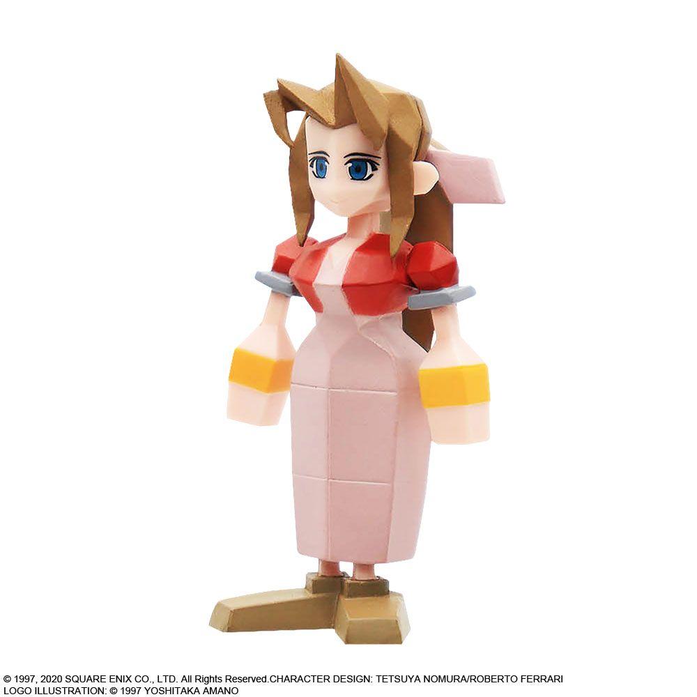 Link a Final Fantasy VII – Aerith – Cloud – Sephirot – Square Enix – Figure – 2