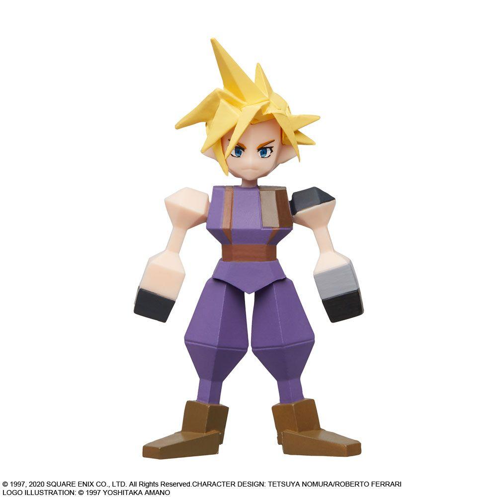 Link a Final Fantasy VII – Aerith – Cloud – Sephirot – Square Enix – Figure – 5