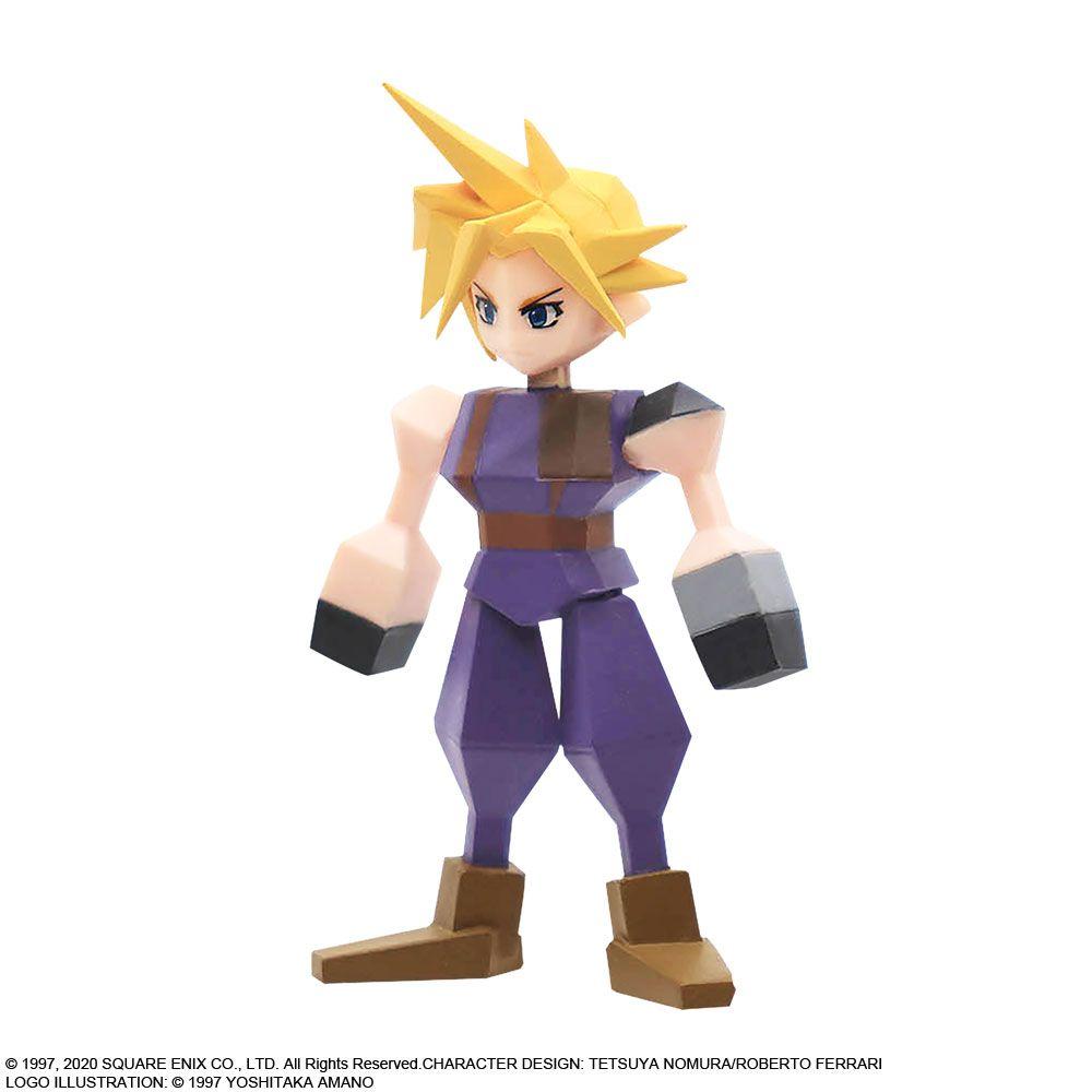 Link a Final Fantasy VII – Aerith – Cloud – Sephirot – Square Enix – Figure – 6