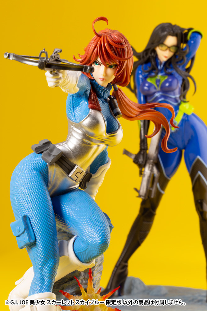 Link a G.I. Joe – Scarlett – Bishoujo – Baroness – 9
