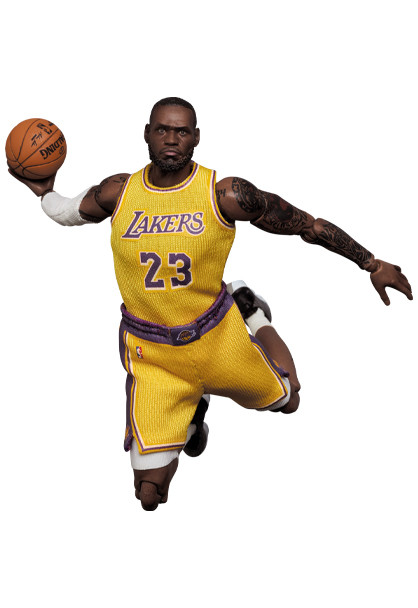 Link a LeBron James – NBA – action figure – Mafex – Medicom – 1