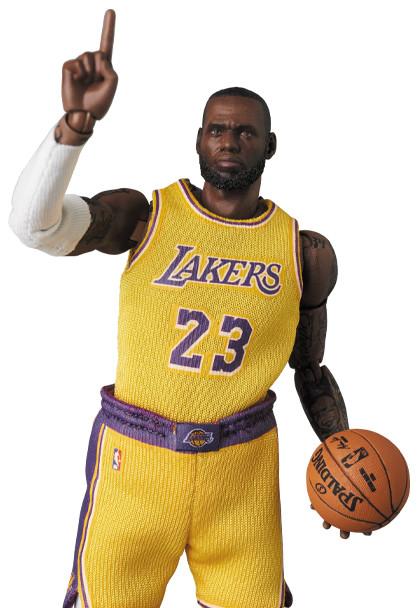 Link a LeBron James – NBA – action figure – Mafex – Medicom – 10
