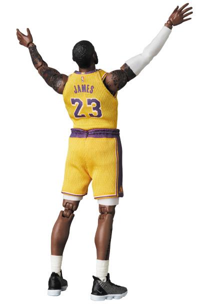 Link a LeBron James – NBA – action figure – Mafex – Medicom – 11