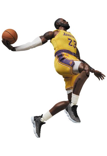 Link a LeBron James – NBA – action figure – Mafex – Medicom – 7