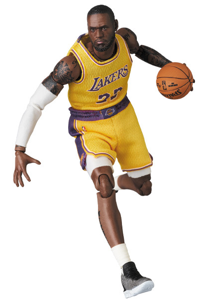 Link a LeBron James – NBA – action figure – Mafex – Medicom – 8