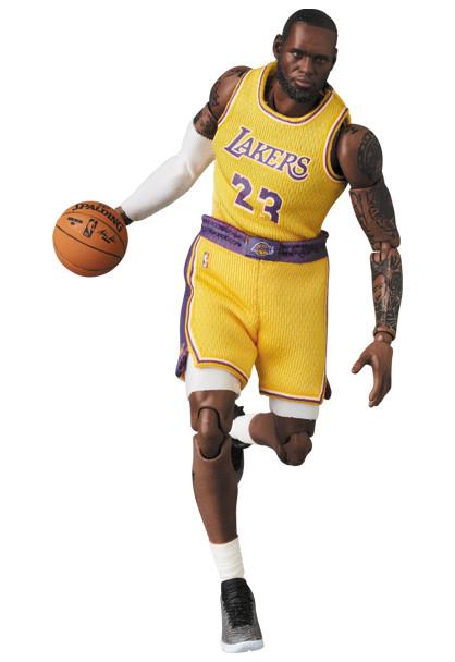 Link a LeBron James – NBA – action figure – Mafex – Medicom – 9