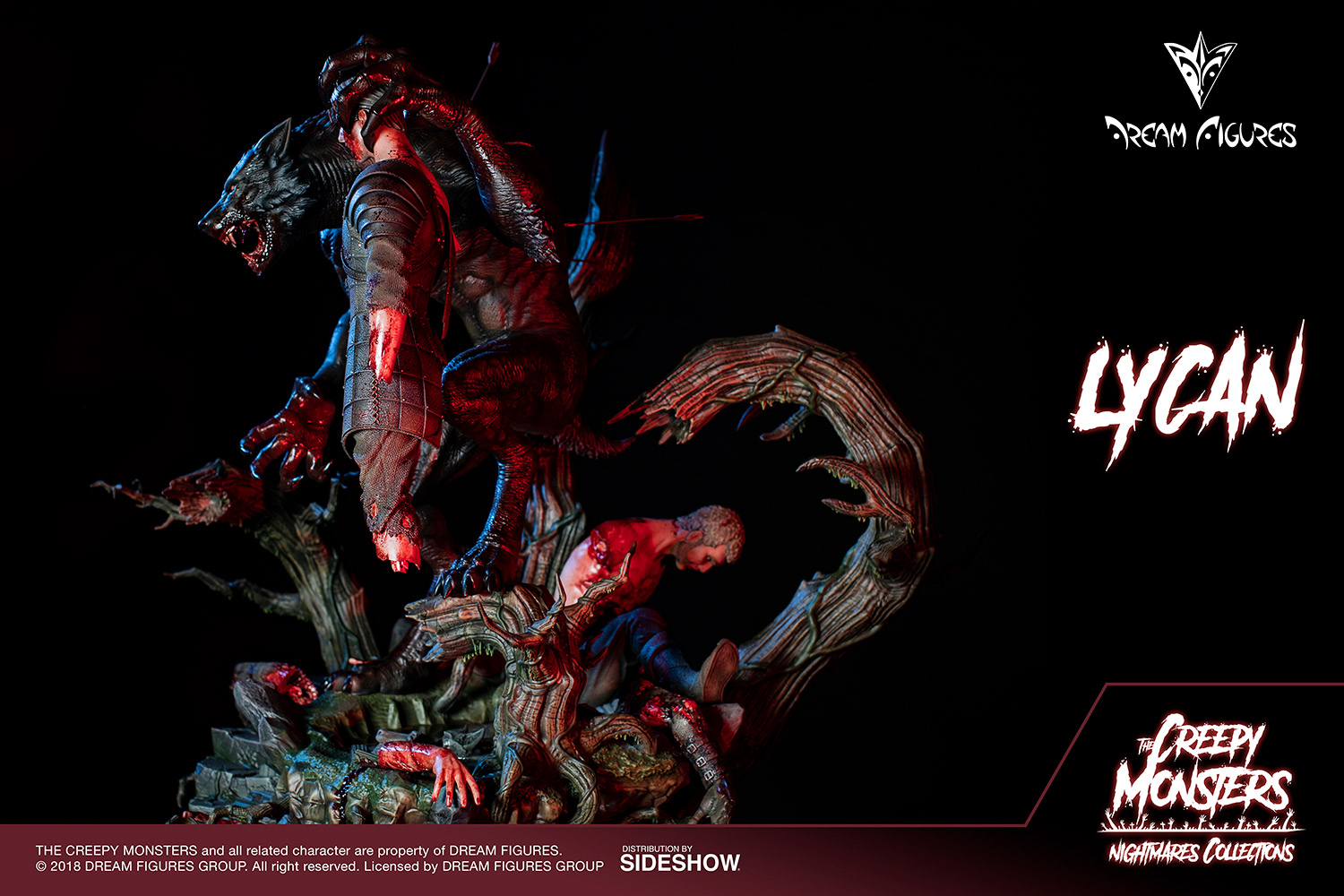 Link a Lycan-Statue-006