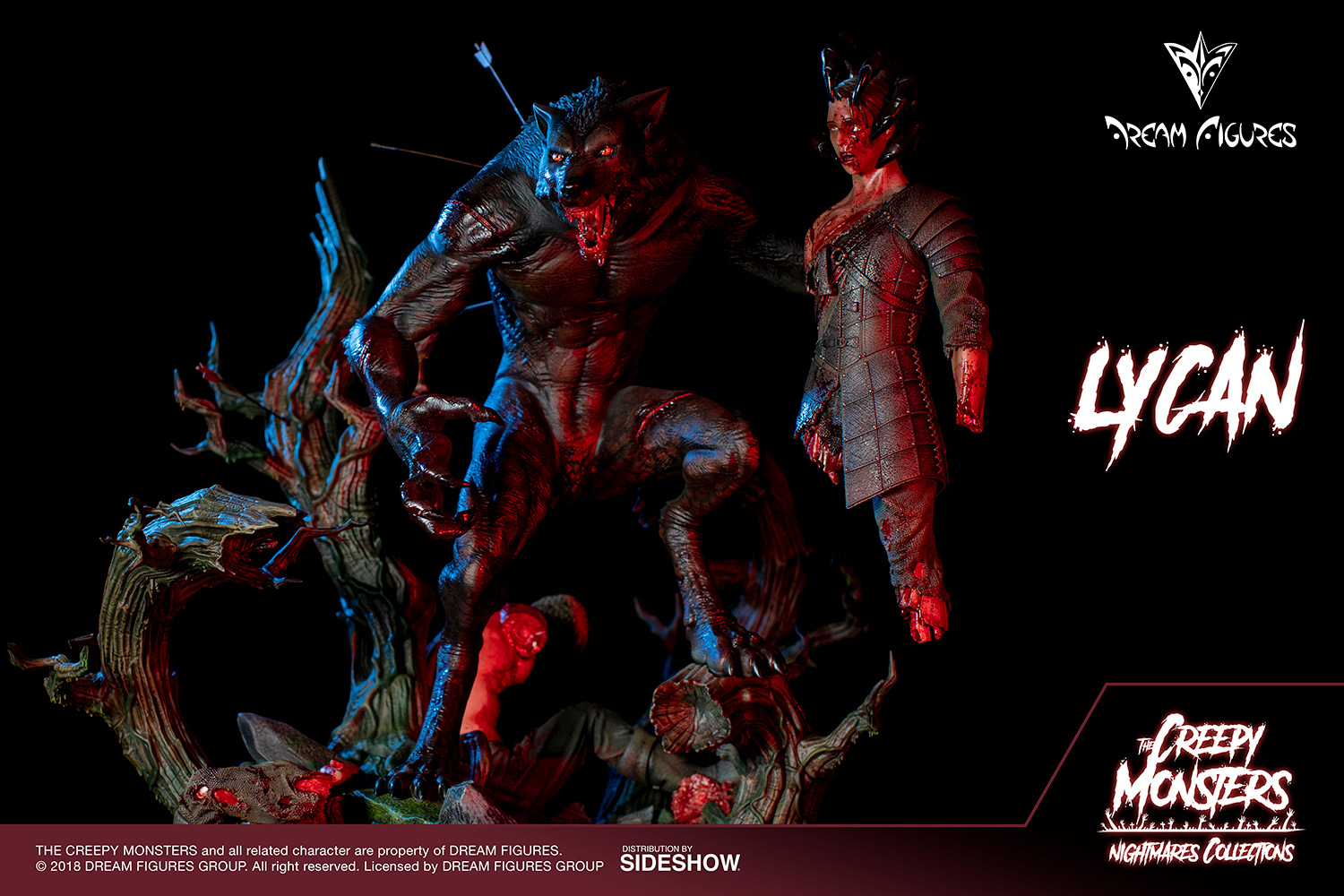 Link a Lycan-Statue-008