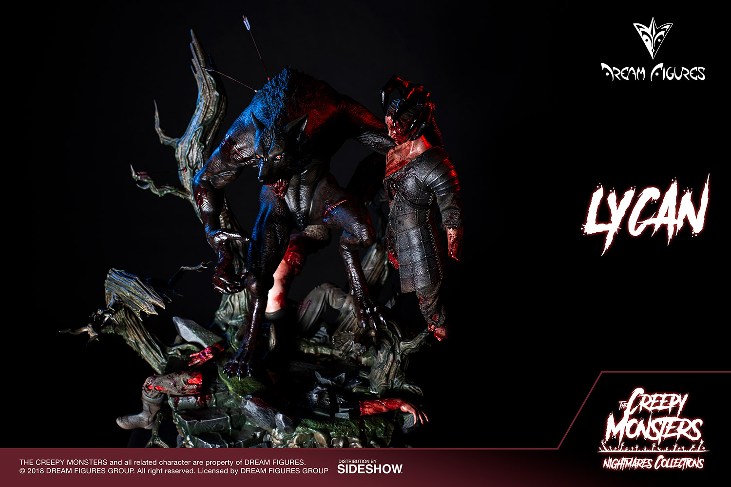 Link a Lycan-Statue-009
