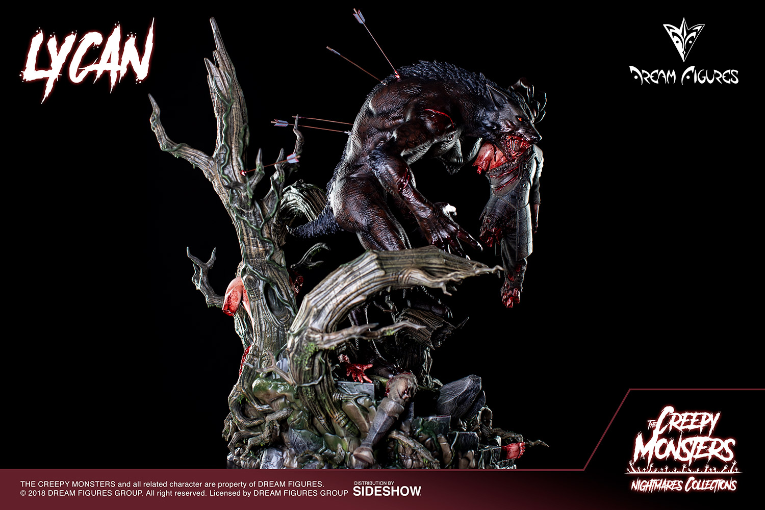 Link a Lycan-Statue-012